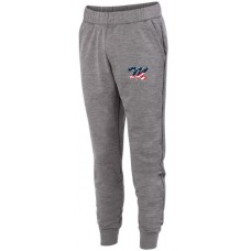 Augusta Tonal Heather Fleece Jogger-Post 88